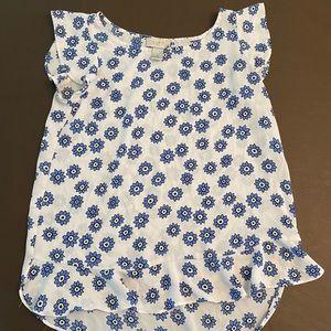 SALE 🌸 Women's Loft floral blouse